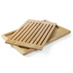 Snijplank met uitneembaar houten raster